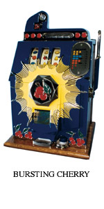 bursting cherry slot machine